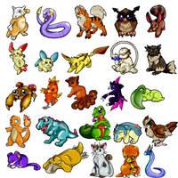Pokemon- Basic Pokemon I by Tigryph