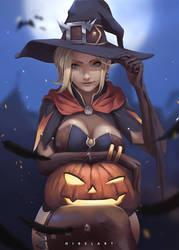 Mercy Witch by NibelArt
