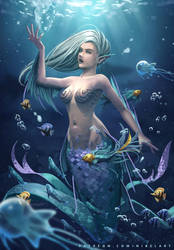 Mermaid by NibelArt
