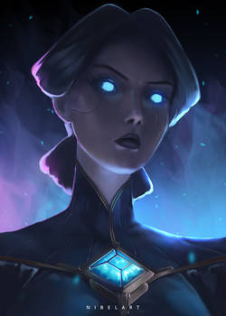 Camille ~ League Of Legends by NibelArt