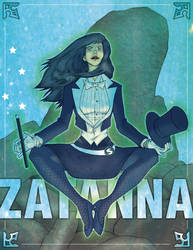Zatanna Illustration by thevisualstoryteller