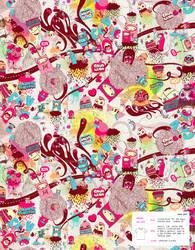 SPFW08 - Toy Monsta Pattern by dchan