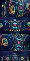 Alien-ish Interface practice by dchan
