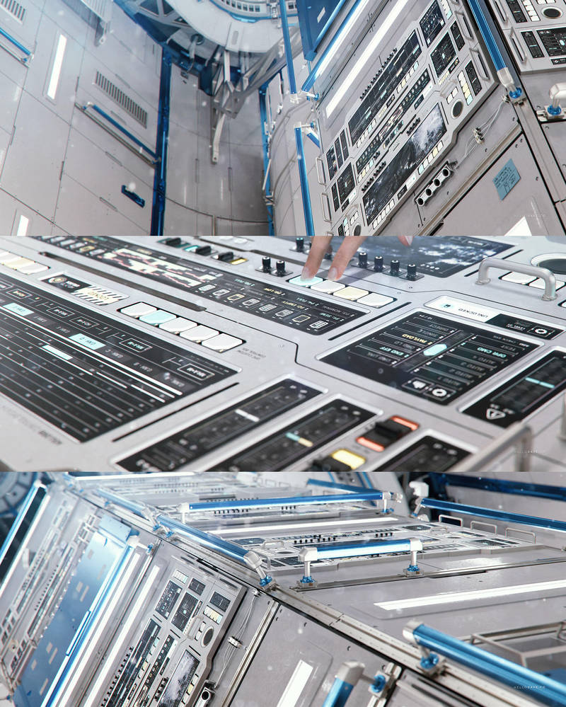 Space Station FUI and Hardware PT1 by dchan