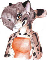 Clouded Leopard by IceCatDemon