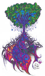 Yggdrasil of the 1960's by Tyrien