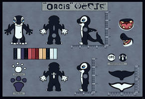 Orcis Reference Sheet by SlimeDile