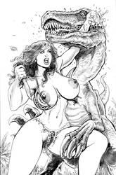 Meriem vs Raptor jaw by icejaw19