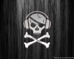 Piracy wallpaper by luciferrebirth