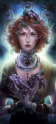 Fertility goddess by Catlait