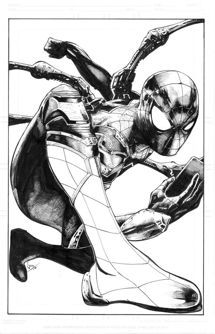Iron Spider for my nephew by LuisPuig