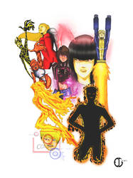 New Mutants Color by ceguedes