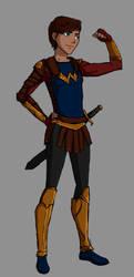 DC: [CONCEPT] Wonder Boy by ClassicalStars