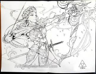 Queen Zelda! by Artipelago
