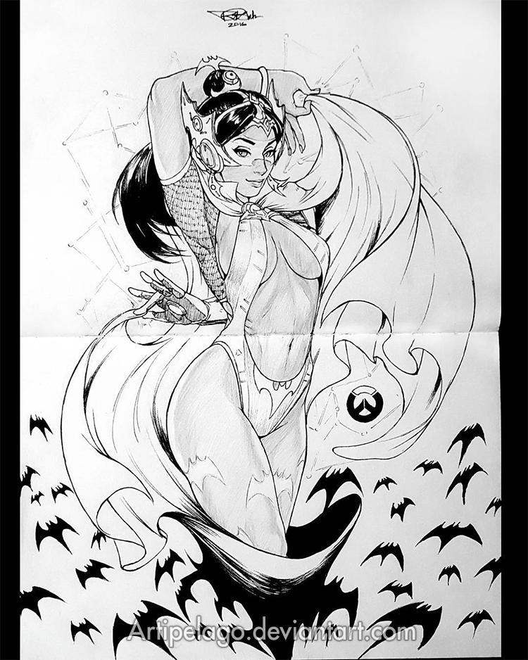 Vampirella Symmetra! by Artipelago