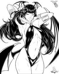 Vampirrigan? : Inktober '18 #3 by Artipelago