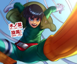 Rock Lee's Wintertime of Youth by Artipelago