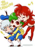 The Three Caballeros 03 by sakutom