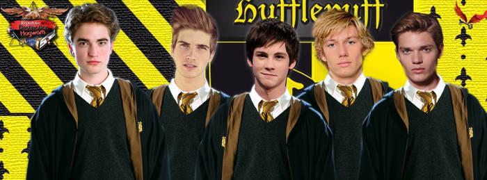HUfflepuff students by DestinationHogwarts