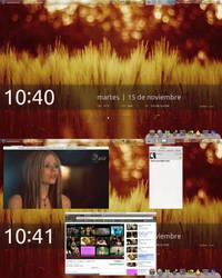 Ubuntu Desktop November by justcarbon