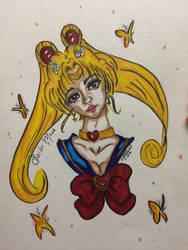Sailor Moon by coppercurrency