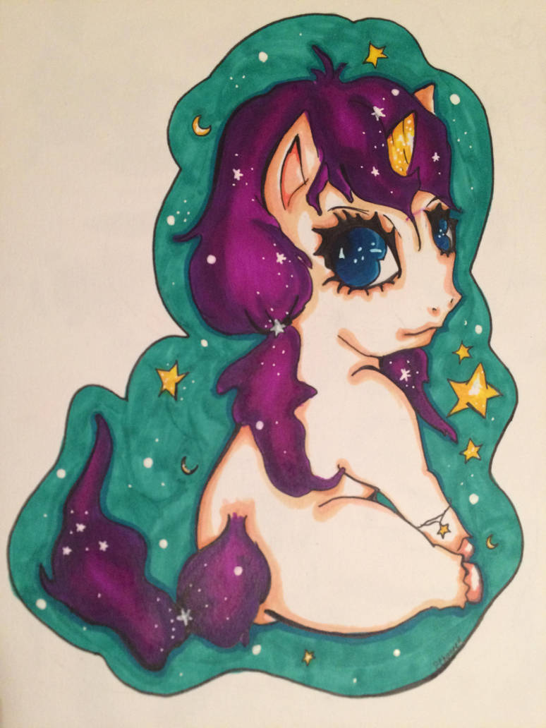 Unicorn Gracie by coppercurrency