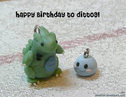 Happy Birthday to ditto9 by Swadloon