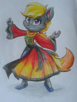 Fire Warrior by MyFantasyZone