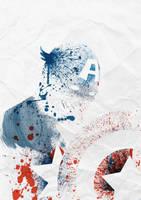 Captain America by Arian-Noveir