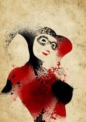 Paint Splatter Villains: Sweet Insanity by Arian-Noveir
