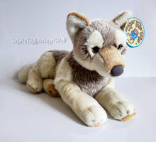 Gift From Mom - VIAHART Waldo the Wolf Plush by WhiteLightning-Wolf