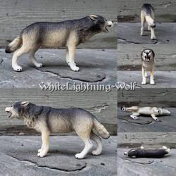 2019 Schleich Wolf by WhiteLightning-Wolf