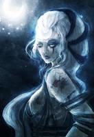 Diana Scorn of the Moon by Skyzocat