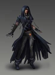 Raven, Teen Titans redesign by Skyzocat
