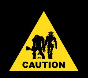 SotC CAUTION by FoGone