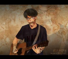 Guitarist by Hagitachi