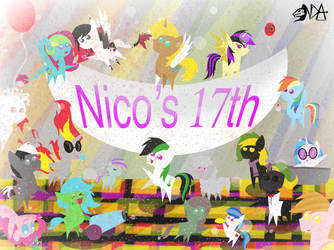 Happy Birthday to you, Nico Pover! by emiltheman22
