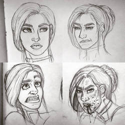 expressions  by mylovelyghost