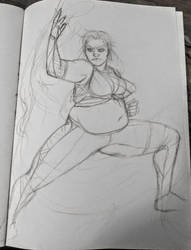 Helga Sketch by mylovelyghost