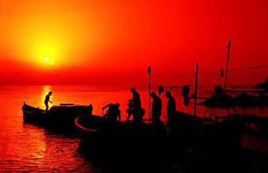 Ahtopol on the Black sea by scruball