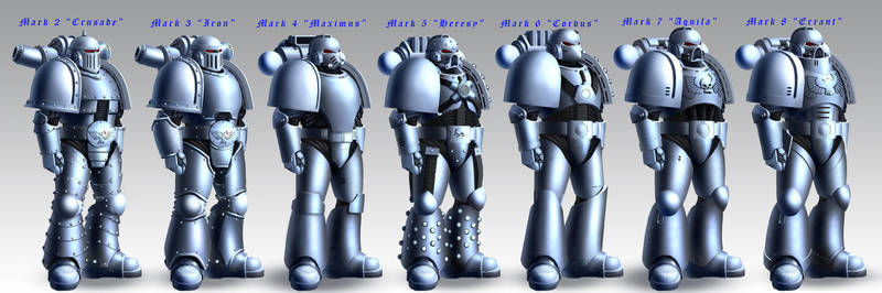 Astartes Armor (Standard modifications) by TheMaestroNoob