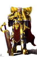 Rogal Dorn by TheMaestroNoob