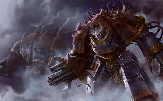 Iron Warrior Obliterator by TheMaestroNoob