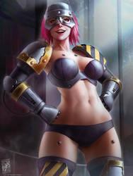 Iron Warrior by TheMaestroNoob