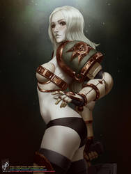 Death Guardess by TheMaestroNoob