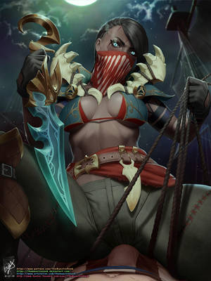 Pyke by TheMaestroNoob