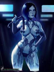 Cortana (Alternative) by TheMaestroNoob