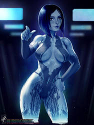 Cortana by TheMaestroNoob
