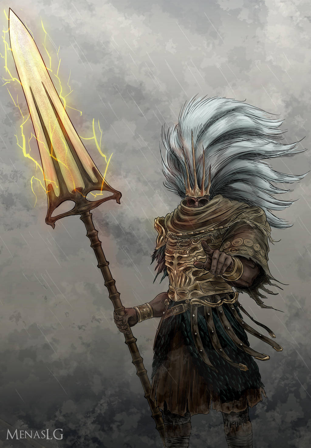 Dark Souls 3: The Nameless King by MenasLG