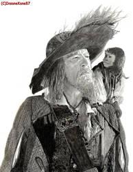 Captain Hector Barbossa by InsaneKane87